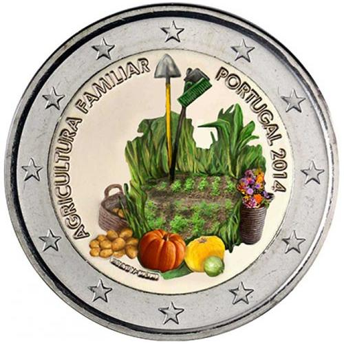 2 euros Portugal 2014 couleur (ref326699)