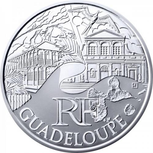 Guadeloupe 2011 - 10 euros régions (ref321120)