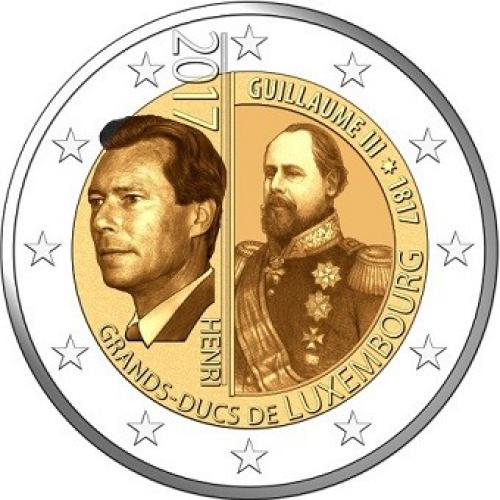 2€ commémorative Luxembourg 2017 (ref21080)