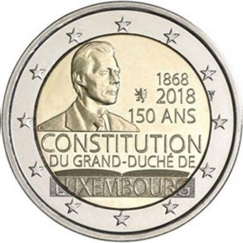 Luxembourg 2018 - 2euro commemorative - Constitution (ref21604)