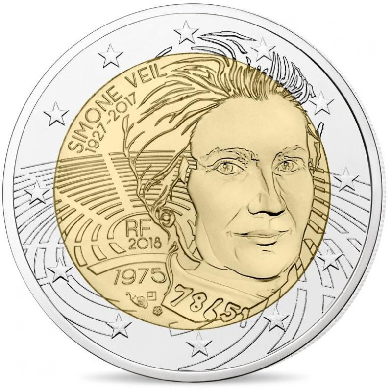 2€ commémorative France 2018 (ref21723)