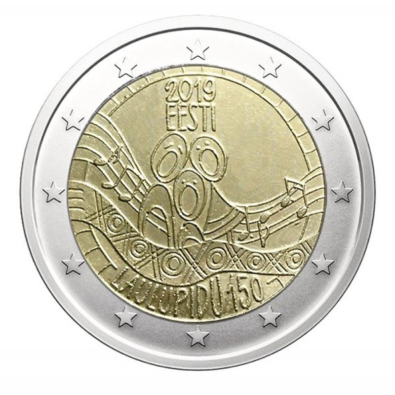 2€ commémorative Estonie 2019 (ref22638)