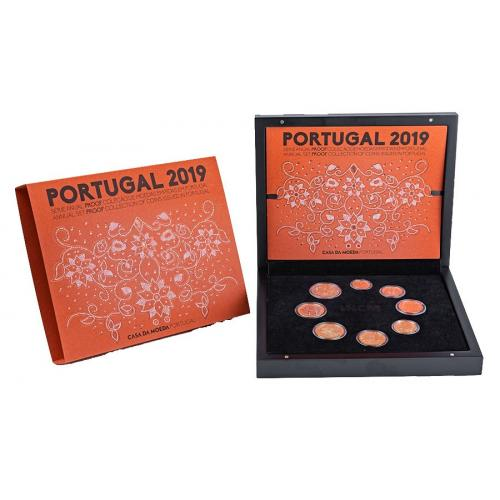Coffret BE Portugal 2019 (ref22448)