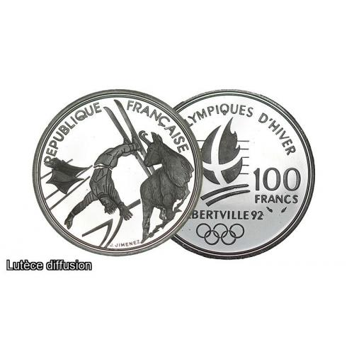 100 Francs Ski acrobatique (ref203932)