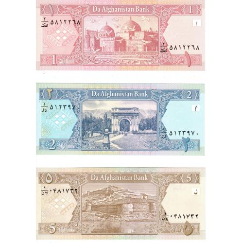 Lot de 2 Billets d'Afghanistan (ref266151)