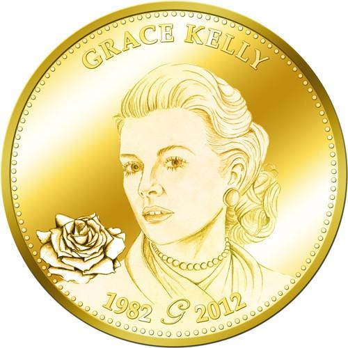 Monnaie Grace kelly (ref24434)