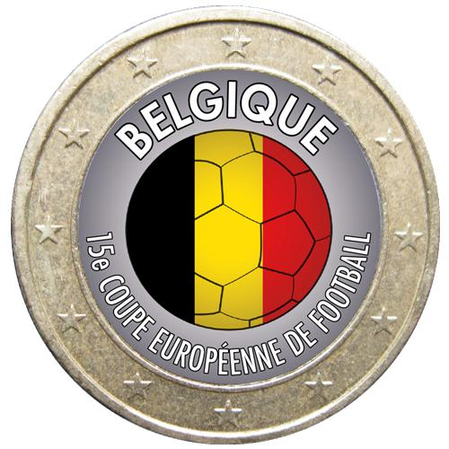 1 euro Football Belgique (ref329100)