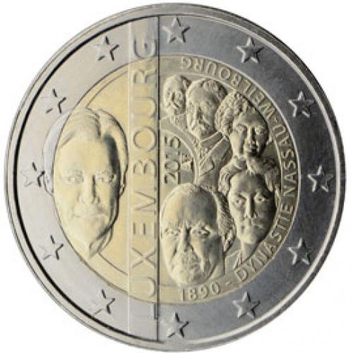2€ commémorative Luxembourg 2015 (ref328488)