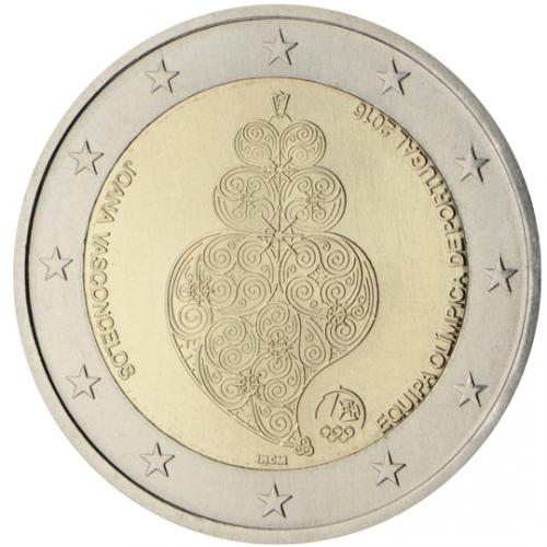 2€ commémorative Portugal 2016 (ref329324)