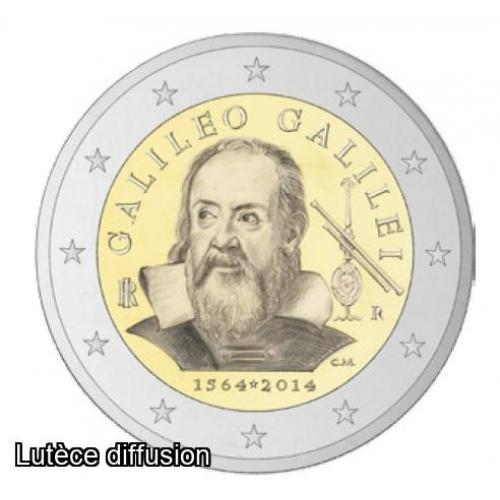 Italie 2014 - Galilee - 2€ commémorative (ref326413)