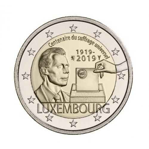 2€ commémorative Luxembourg 2019 (ref90039)